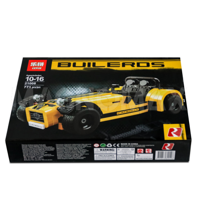 Конструктор Lepin 21008 / Idea Caterham Seven 620R (аналог LEGO 21307, 771 дет.) - 2
